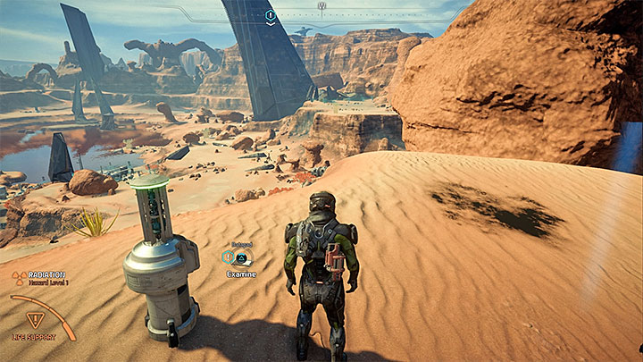 The quest marker is near Site 1 on Eos, the base which was the starting point of your exploration during A Better Beginning quest - Something Personnel | Eos side quests - Eos - Mass Effect: Andromeda Game Guide