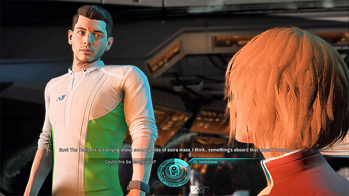 You can learn from Suvi about an unknown baggage - Excess Baggage | Tempest side quests - Tempest - Mass Effect: Andromeda Game Guide