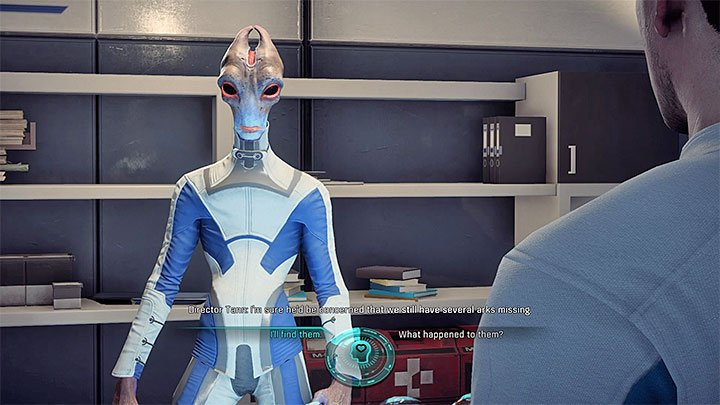 Speak with Tann about the missing Arks - Missing Arks | Allies and Relationships - Allies and Relationships quests - Mass Effect: Andromeda Game Guide