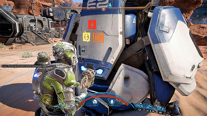 In breakes between fights you can rest near the forward station - Jaal Ama Darav: Friend or Foe? | Allies and Relationships - Allies and Relationships quests - Mass Effect: Andromeda Game Guide