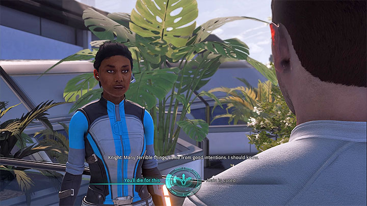 You may have to make a decision - The Firefighters | Nexus side quests - Nexus - Mass Effect: Andromeda Game Guide