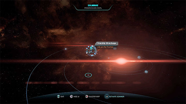 An example of newly found wreckage - Life on the Frontier | Nexus side quests - Nexus - Mass Effect: Andromeda Game Guide
