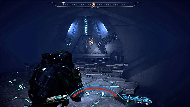 Use the gravity well to descend to the vault - Peebee: Remnant Scanner | Allies and Relationships - Allies and Relationships quests - Mass Effect: Andromeda Game Guide