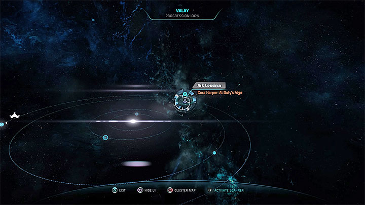 Travel to Valay - Cora Harper: At Dutys Edge (loyalty mission) | Allies and Relationships - Allies and Relationships quests - Mass Effect: Andromeda Game Guide