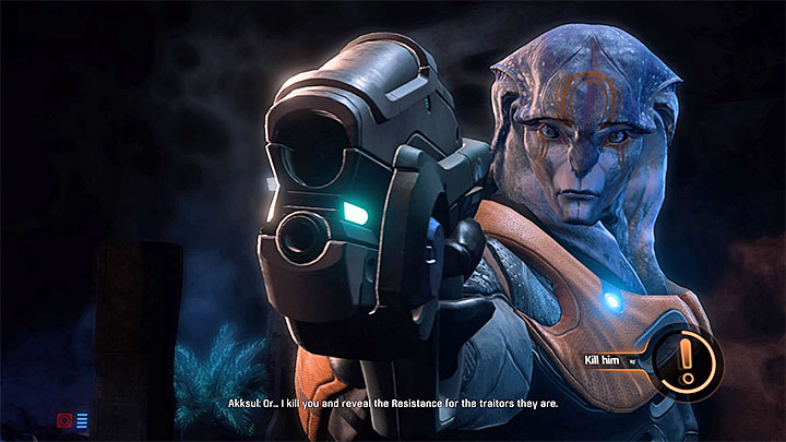 If youve disarmed all the charges before taking care of all the enemies, you can now take your time and eliminate the leftovers - Jaal Ama Darav: Flesh and Blood (loyalty mission) | Allies and Relationships - Allies and Relationships quests - Mass Effect: Andromeda Game Guide