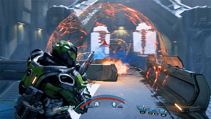 Moreover, your enemy can create an energy sphere (shown on the screenshot above) - A Trail of Hope | Priority Ops - Priority Ops (Main quests) - Mass Effect: Andromeda Game Guide