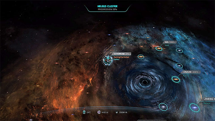 Mass Effect Andromeda Star Map.Hunting The Archon Priority Ops Mass Effect Andromeda Game