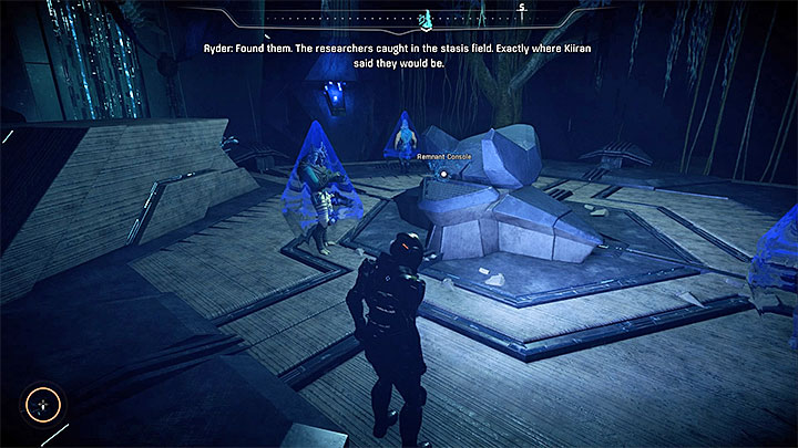 The location with the monolith and the trapped researchers - Helping Havarls Scientists | Priority Ops - Priority Ops (Main quests) - Mass Effect: Andromeda Game Guide