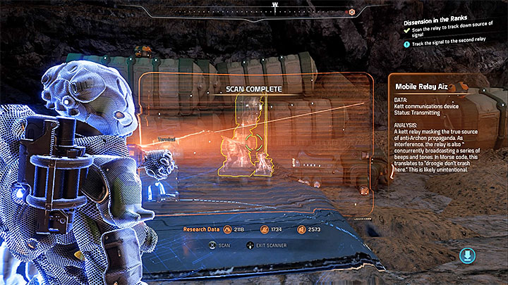 The source can be traced to a location not far from Prodromos - Dissension in the Ranks | Allies and Relationships - Allies and Relationships quests - Mass Effect: Andromeda Game Guide