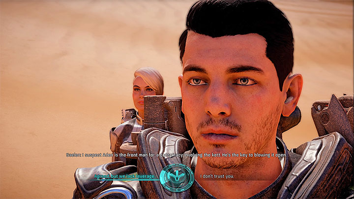 You can trust the real Saelen or question his version of events - Truth and Trespass | Allies and Relationships - Allies and Relationships quests - Mass Effect: Andromeda Game Guide