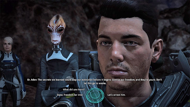 You receive a new objective in which you must meet with the impostor on Kadara - Truth and Trespass | Allies and Relationships - Allies and Relationships quests - Mass Effect: Andromeda Game Guide
