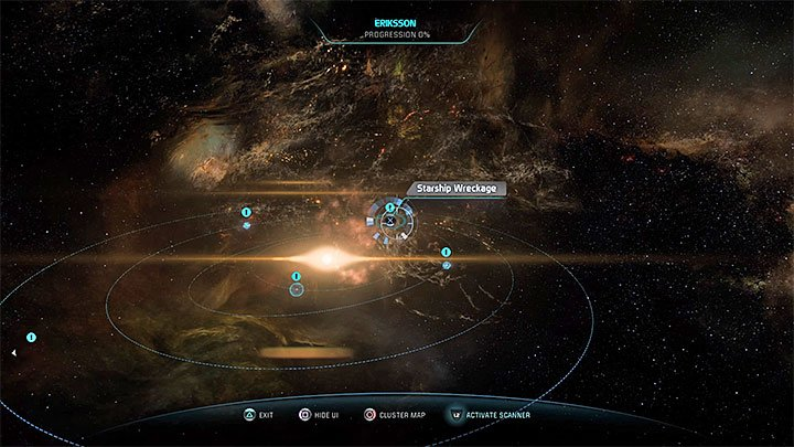 The anomaly is in Eriksson system - Additional tasks | Nexus side quests - Nexus - Mass Effect: Andromeda Game Guide