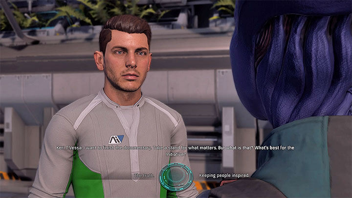 You can shape the material made by the journalist - Additional tasks | Nexus side quests - Nexus - Mass Effect: Andromeda Game Guide