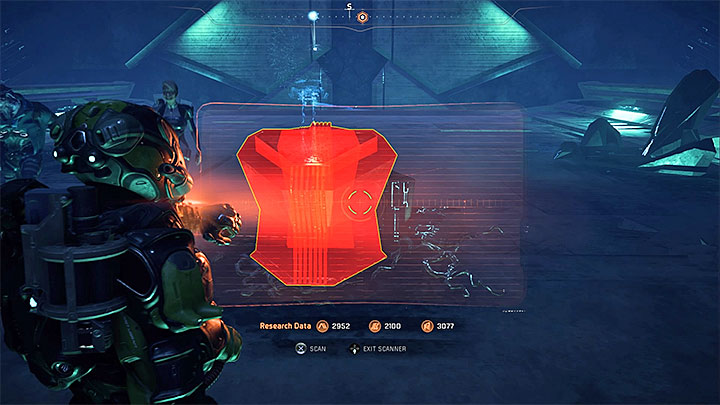 Having used the gravity well, approach the big door to establish that its locked - The Remnant Tiller | H-047c side quests - H-047c - Mass Effect: Andromeda Game Guide