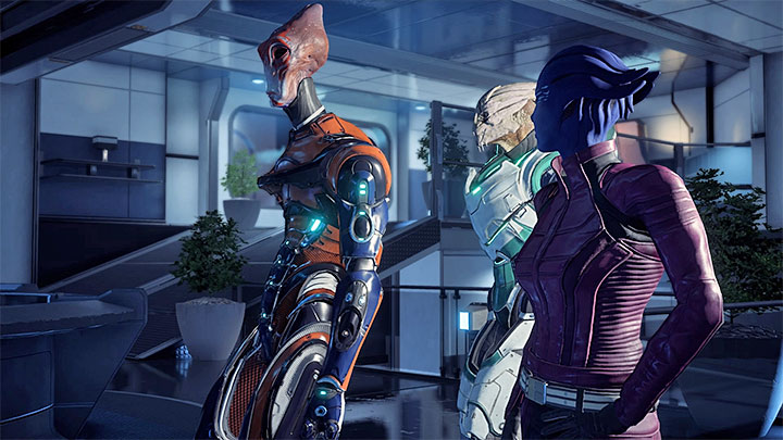 The meeting can be joined by other Pathfinders representing the three races - The Journey to Meridian | Priority Ops | Walkthrough - Priority Ops (Main quests) - Mass Effect: Andromeda Game Guide