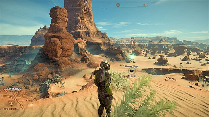 The next memory trigger is on the top of a small mountain near the north base on Eos, the one in which you started the exploration - you can see it on the picture - Ryder Family Secrets | Allies and Relationships - Allies and Relationships quests - Mass Effect: Andromeda Game Guide