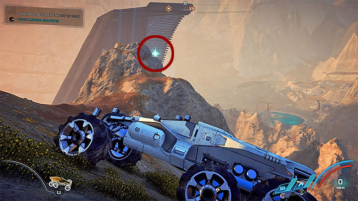 The first memory trigger is on a big hill south from the place where you can establish the Andromeda Initiative outpost on planet Kadara - Ryder Family Secrets | Allies and Relationships - Allies and Relationships quests - Mass Effect: Andromeda Game Guide