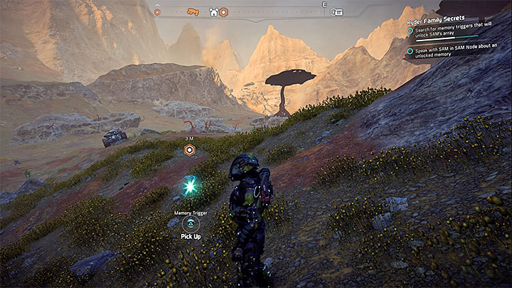 Investigate the area near the place where you can establish the Andromeda Initiative outpost - Ryder Family Secrets | Allies and Relationships - Allies and Relationships quests - Mass Effect: Andromeda Game Guide