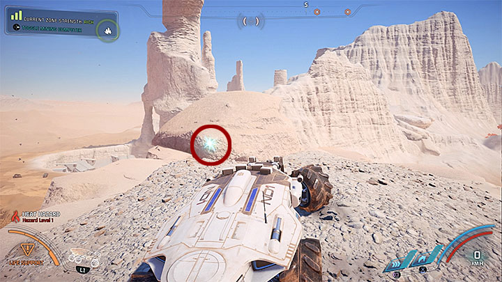 The memory trigger that is farthest in the north is on a hill - Ryder Family Secrets | Allies and Relationships - Allies and Relationships quests - Mass Effect: Andromeda Game Guide