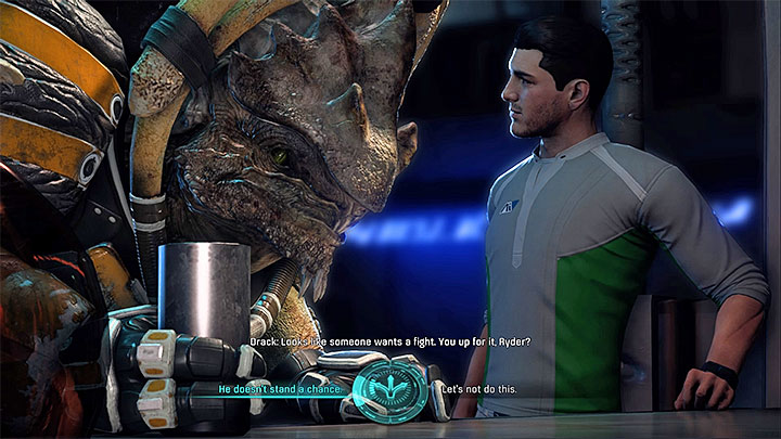 1 - Nakmor Drack: Other quests | Allies and Relationships - Allies and Relationships quests - Mass Effect: Andromeda Game Guide