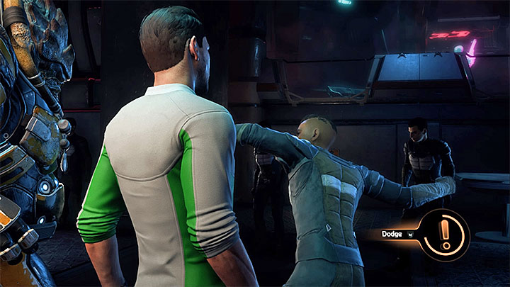 Fly on Kadara and when you arrive at Kadara Port go to Krallas Song bar - Nakmor Drack: Other quests | Allies and Relationships - Allies and Relationships quests - Mass Effect: Andromeda Game Guide