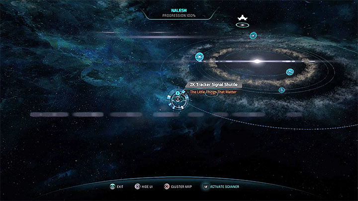 A very important conversation plays after examining the shuttle in Nalesh system - The Little Things That Matter | Allies and Relationships - Allies and Relationships quests - Mass Effect: Andromeda Game Guide