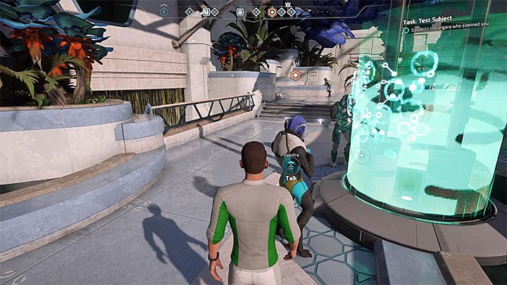 The way in which this quest is unlocked is rather unusual because you have to make one of the Angara try to scan you - Additional tasks | Aya side quests - Aya - Mass Effect: Andromeda Game Guide