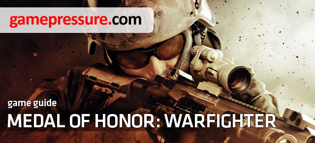 Guide to Medal of Honor: Warfighter contains a detailed walkthrough of the single player campaign on Hard difficulty, as well as a list of all the achievements - Medal of Honor: Warfighter - Game Guide and Walkthrough