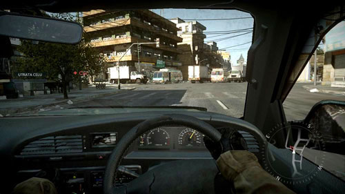 Walk through the park with a kind of empty, dusty earth, and then turn slightly to the right to enter the street - Mission 04: Hot Pursuit - Campaign - Medal of Honor: Warfighter - Game Guide and Walkthrough