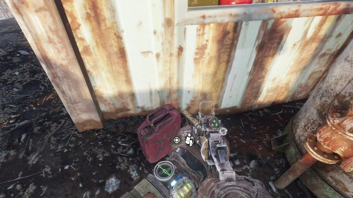 Go behind the building - you will find a full fuel tank - How to find the battery charge controller in Metro Exodus? - FAQ - Metro Exodus Guide