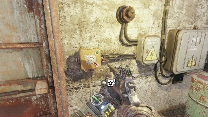 You can now open the next door - How to find the battery charge controller in Metro Exodus? - FAQ - Metro Exodus Guide