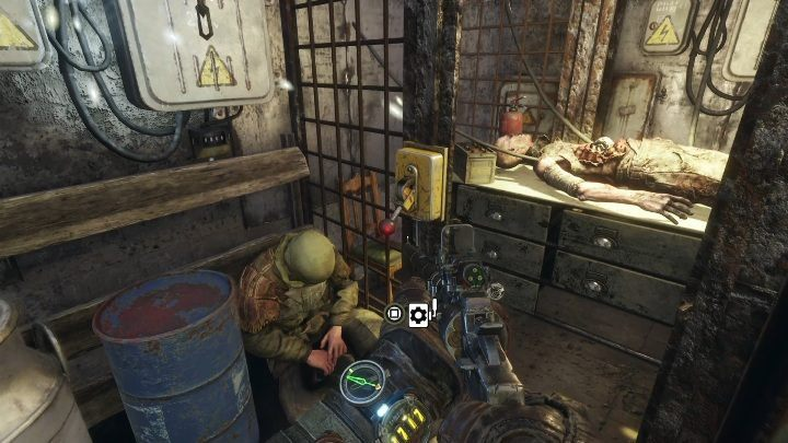 You are in a room with two corpses - How to find the battery charge controller in Metro Exodus? - FAQ - Metro Exodus Guide