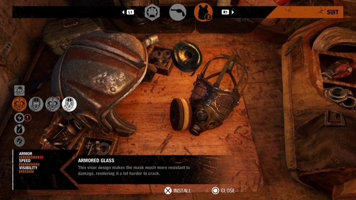Most of the improvements for armor, helmet or gadgets can be found by completing optional tasks, which are marked with an appropriate symbol on the map - How do I get upgrades for armor, helmet and gas mask in Metro Exodus? - Equipment - Metro Exodus Guide