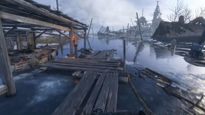 At this point, you can taste the first charms of freedom in Metro Exodus and set off on your own expeditions - First steps in Volga - Metro Exodus Walkthrough - Volga - Metro Exodus Guide