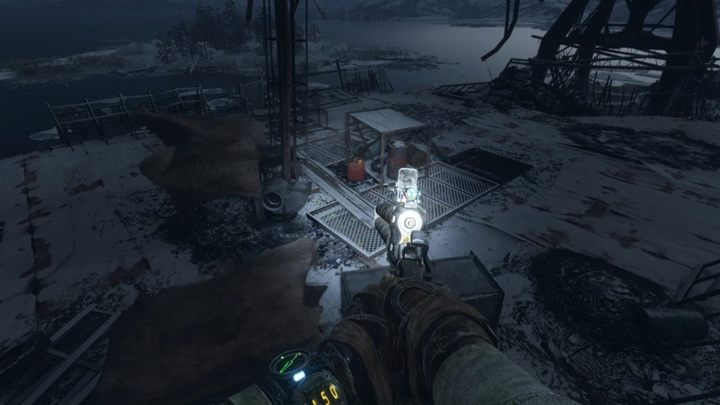 Scroll through the place and then continue in the direction of the arrow - Volga - Looking for Krest - Metro Exodus Walkthrough - Volga - Metro Exodus Guide