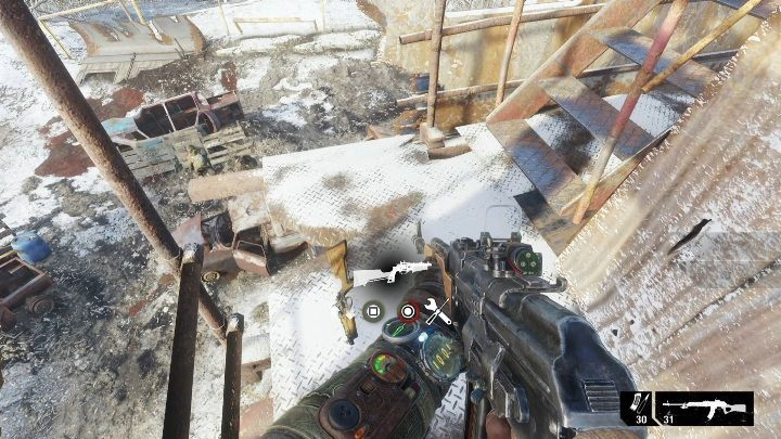 Keep eliminating the enemies while you are moving up - How to find a guitar in Metro Exodus? - FAQ - Metro Exodus Guide