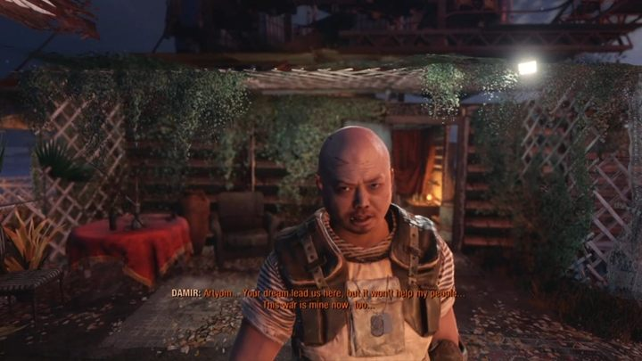 In the Caspian Sea, you will encounter slaves faction - they are forced to work for the local Baron - How to save Damirs life in Metro Exodus? - FAQ - Metro Exodus Guide