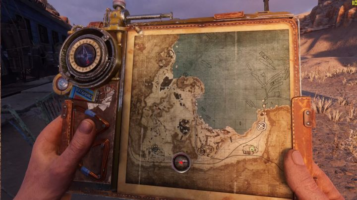 There is only one hideout in the Caspian Sea - Hideouts and workbenches in The Caspian Sea in Metro Exodus - Hideouts and workbenches - Metro Exodus Guide