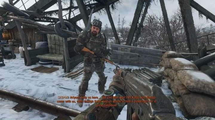 Specialist in heavy weaponry and one of the strongest warriors - Characters in Metro Exodus - Basics - Metro Exodus Guide