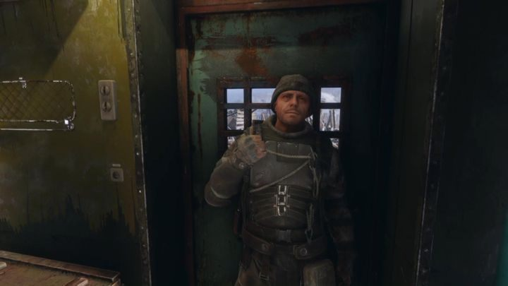 He creates weapons and upgrades - Characters in Metro Exodus - Basics - Metro Exodus Guide
