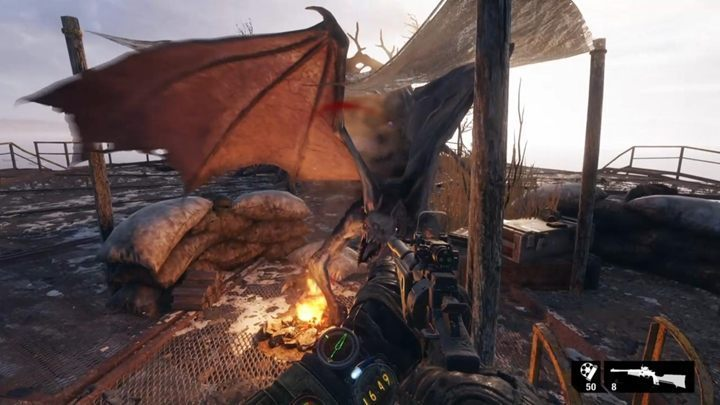 Appearance: a huge mutant with wings - Mutants in Metro Exodus - Basics - Metro Exodus Guide
