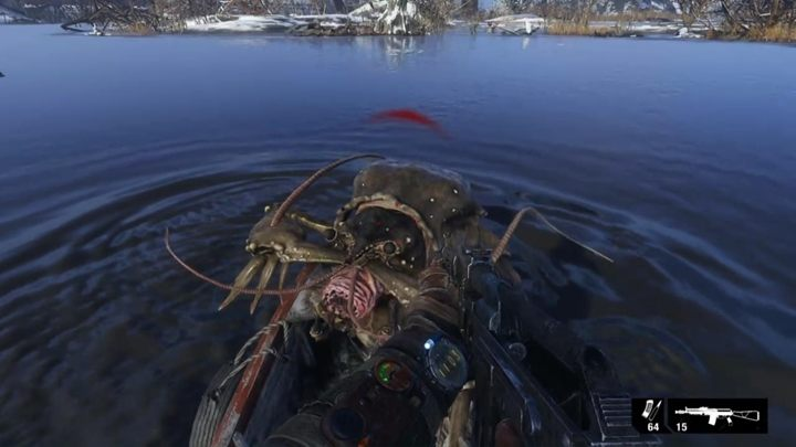 Therere a few options - How to defend yourself against the beasts in a boat in Metro Exodus? - FAQ - Metro Exodus Guide