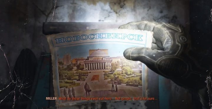 Location: The first postcard is in the metro - Diaries and postcards in Autumn and the Dead City - Metro Exodus Collectibles - Diaries and postcards - Metro Exodus Guide