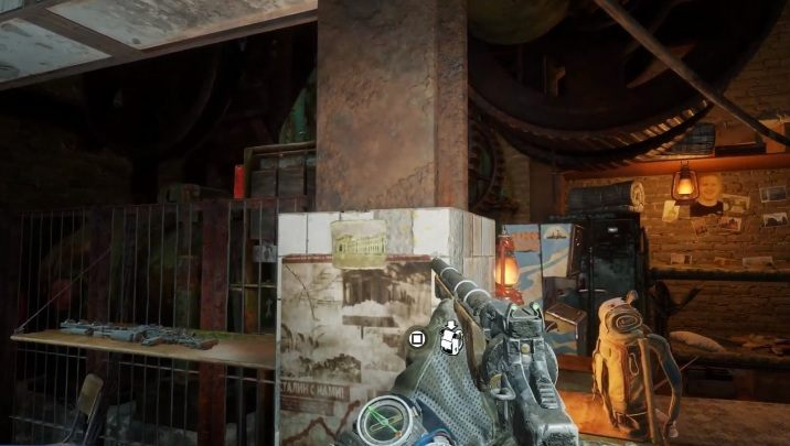 Location: The last postcard in the game is near the maps - Diaries and postcards in Autumn and the Dead City - Metro Exodus Collectibles - Diaries and postcards - Metro Exodus Guide