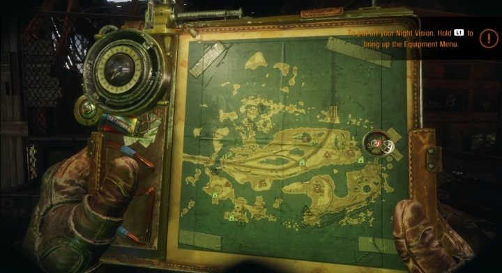 Подробная карта по Metro Exodus – где найти улучшения оружия, противогаза, очков ночного видения, ресурсы, а также интересные места на локации Волга