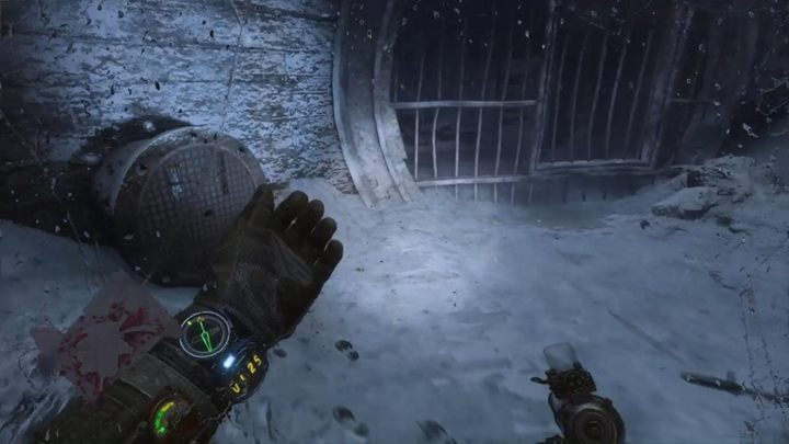 After a short walk, you will reach the snow-covered room - Dead City - Way the metro and finding the boy - Metro Exodus Walkthrough - Dead City - Metro Exodus Guide