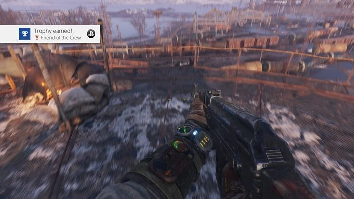 How to unlock: Find a guitar and a teddy bear in the Volga - List of all achievements and trophies in Metro Exodus - Achievements and trophies - Metro Exodus Guide