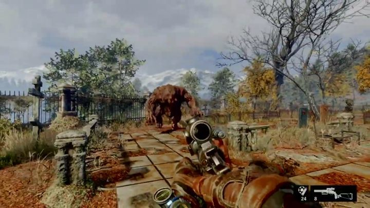 How to unlock: Stand your ground against the Bear at the first encounter - List of all achievements and trophies in Metro Exodus - Achievements and trophies - Metro Exodus Guide