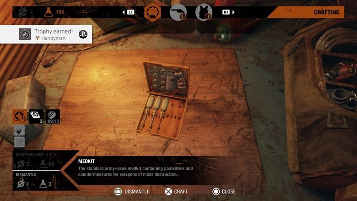 How to unlock: Spend 500 consumable resources on crafting - List of all achievements and trophies in Metro Exodus - Achievements and trophies - Metro Exodus Guide