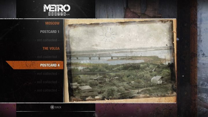 2 - Diaries and postcards in Winter and The Volga - Metro Exodus Collectibles - Diaries and postcards - Metro Exodus Guide